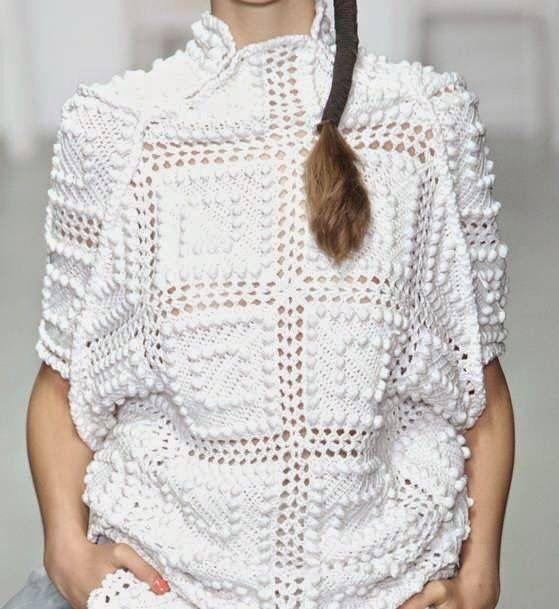 Mejores 36 imágenes de tricô croché en Pinterest   Tejido y ...