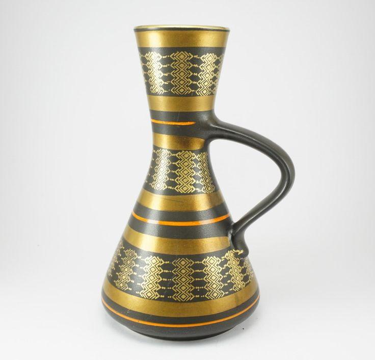 West German Dümler & Breiden Vase from1970s by ScandicDiscovery on Etsy