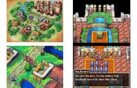 Dragon Quest Environment - Sense of scale is important, as well as progression, village to town to castle etc. useful to consider and as a reference