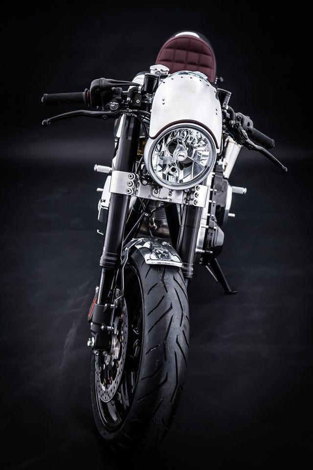 """Hesketh Motorcycles Cafe Racer """"Sonnet"""" #motorcycles #caferacer #motos 