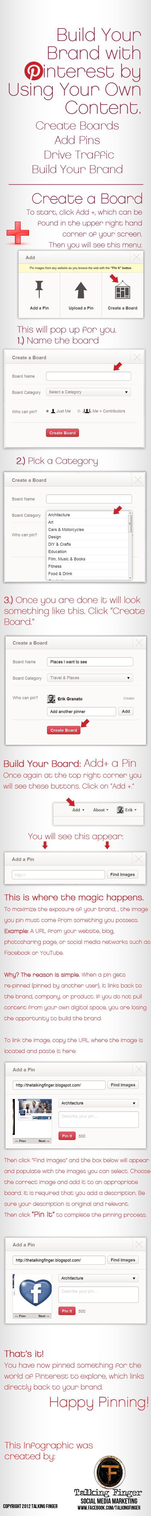 Build your #Brand with #Pinterest