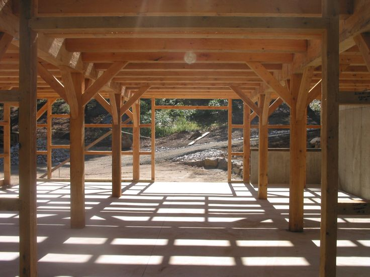 pole barn interior design homes | barns-wiedie-barn-timber