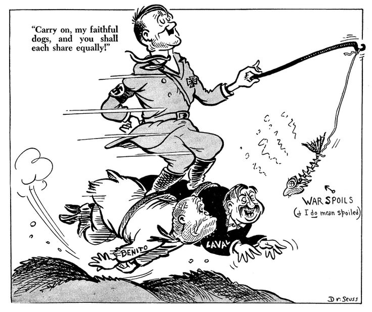 world war 2 hitler and mussolini relationship