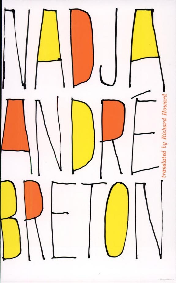 "One of the iconic works of the French surrealist movement, Nadja is the second novel published by André Breton, in 1928. It starts with the question ""Who am I?""  It is based on Breton's interactions with an actual young woman (Nadja) over the course of 10 days. The last line of the book (""beauty will be CONVULSIVE or will not be at all"") provided the title for Pierre Boulez's flute concerto ...explosante-fixe...""."