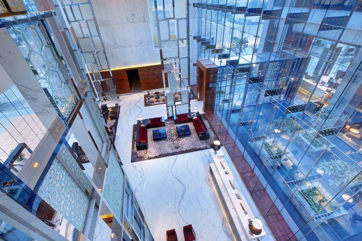 An architecture that's in sync with Gurgaon's millennium city blueprint! #Lobby #Hotel #Gurgaon #VivantabyTaj http://www.vivantabytaj.com/gurgaon