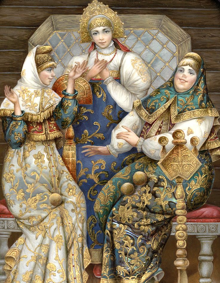 """The Three Maidens"" by Boris Shavirin"