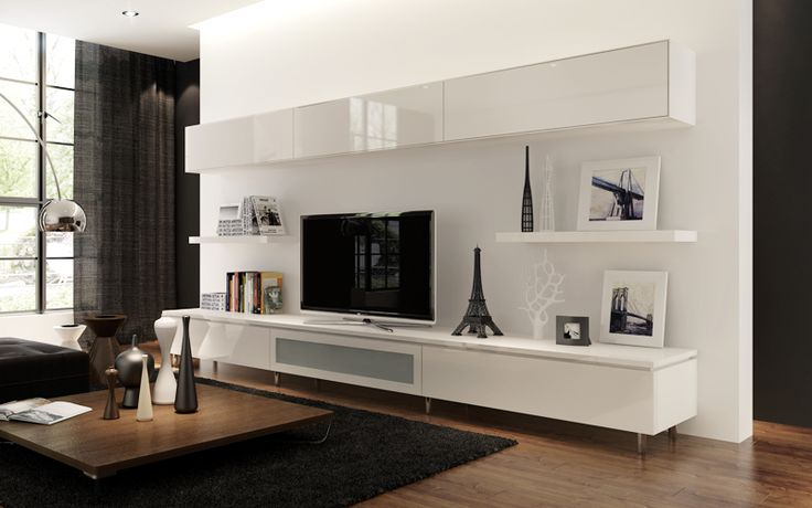 style your home with floating cabinets living room. Black Bedroom Furniture Sets. Home Design Ideas