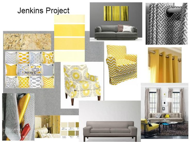 120 best Cheerful Gray & Yellow images on Pinterest | Yellow, Gray ...