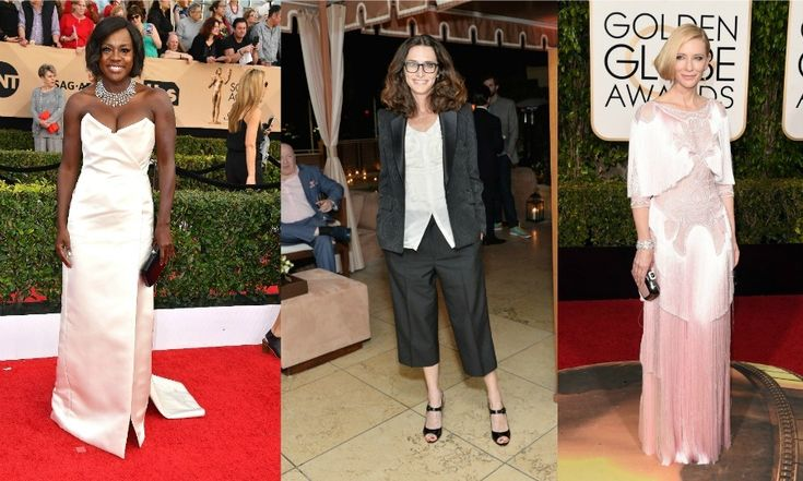 Elizabeth Stewart. So far this season, the specks rocking stylist has hit the mark with Viola Davis' cream number for the SAG awards and Cate Blanchett's blush pink Givenchy gown for the Golden Globes.