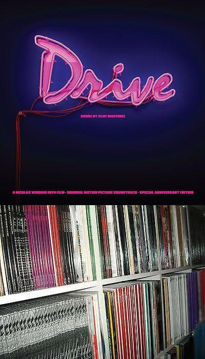 Music Albums: Drive Original Soundtrack Cliff Martinez Score 2X Pink Vinyl Lp Record! Ost New! BUY IT NOW ONLY: $49.99