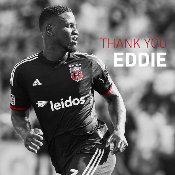 @eddie_johnson7 has announced his retirement.  #DCU will recognize him at HT today for his great career.