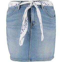 Lee Spódnica jeansowa blue sign