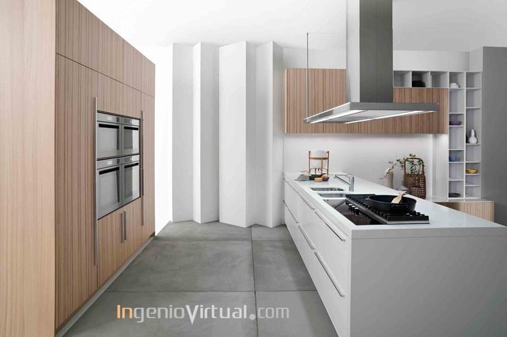 ingeniovirtual.com - Infografía para proyecto de cocina en residencia.