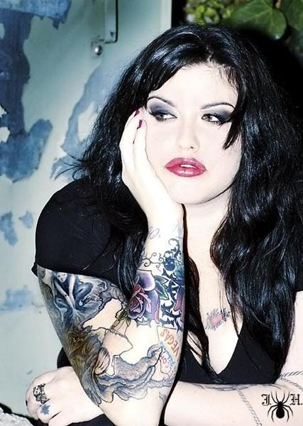 Mia Tyler, Liv Tyler's half sister.  Very clearly Steve had some amazing genes.