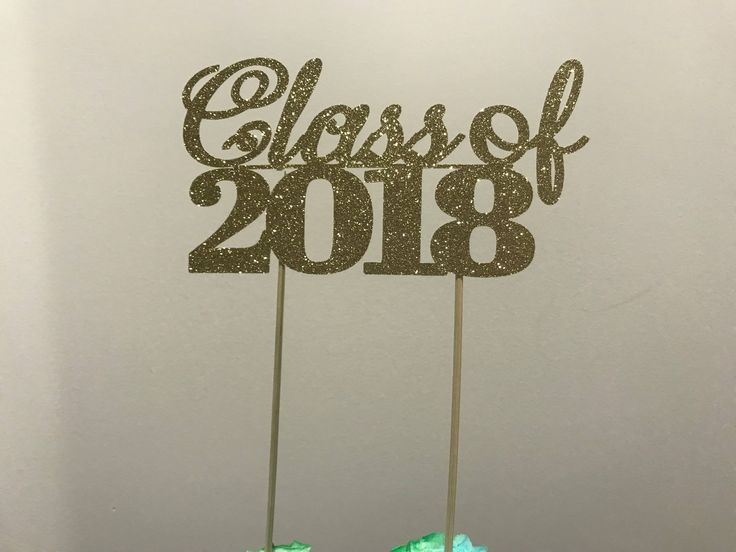 Graduation Cake Topper, Personalized Graduation cake topper, Graduation Party decor, Congrats Grad, Graduation Party, Graduation 2018, Grad by Party14ByBELLA on Etsy