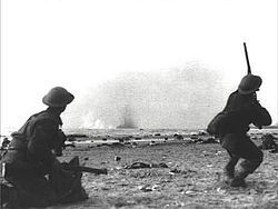 Dunkirk, France Battle May 26-June 4 1940. Germany tries to drive the allied forces from Europe.
