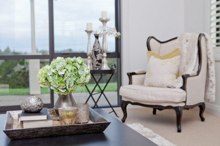Formal lounge setting