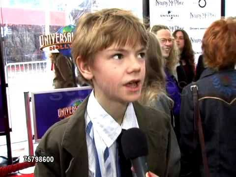 Thomas Sangster - Nanny McPhee: Interview 2 - YouTube