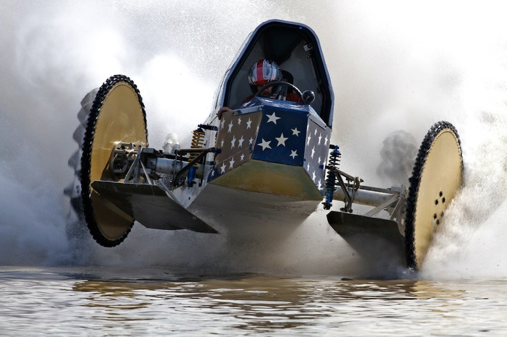 Grabbed this shot of Tyler Johns at the World Famous Naples Swamp Buggy races today. These things are wild!