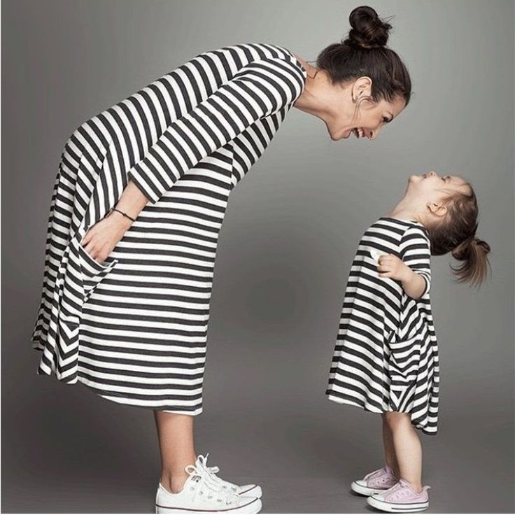 Fashion mom and kids couple look stripe family matching outfits Baby Girls clothes dress mother daughter Children dress clothing | Price: $10.12 | #babies #pregnancy #kids #mommy #child #love #momlife #babygirl #babyboy #babycute #pregnant #motherhood #photography #photoshoot