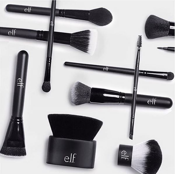 I love this 11 piece brush set from elf cosmetics! Check out this article to see our other best e.l.f. cosmetic products you need in your makeup bag!