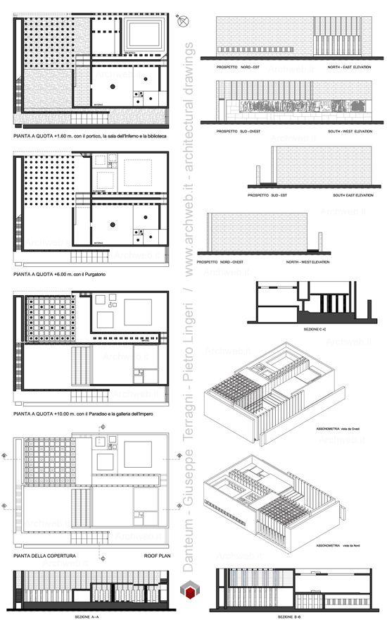 Danteum Terragni - disegni dwg