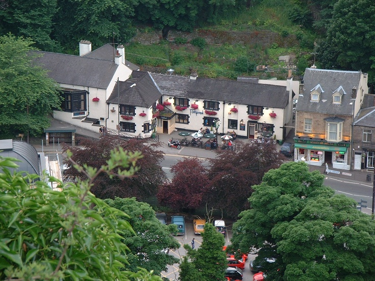 The  Peak District town of Matlock is divided neatly into two; the main town radiating out from the river Derwent crossing opposite the railway station and Matlock Bath spread out along the gorge to the south. Whereas Matlock itself seems solid and Victorian with neat stone houses going in rows up the hill. Matlock Bath has a more frivolous air with whitewashed Peak District cottages dotted along the hillside. Overlooking it all is the gigantic folly that is Riber Castle, built in the 1860's