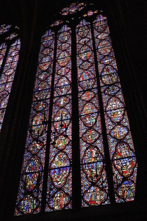 Ste-Chapelle サント・シャペル。 ココも、二回目かな。