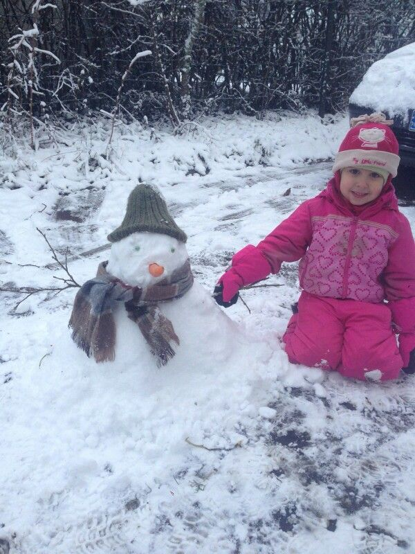 Best snowman ever !! 2015 finland