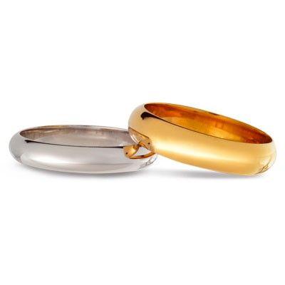 #aliança boda or bicolor #alianza boda oro bicolor Ref: 1200