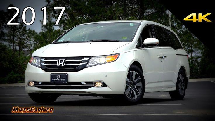 2017 Honda Odyssey Touring Elite - Ultimate In-Depth Look in 4K