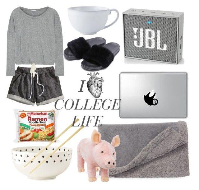 """college life"" by koczuba-anna on Polyvore featuring JBL, Juliska, Nordstrom, Melissa & Doug, Kate Spade, H&M and Eberjey"