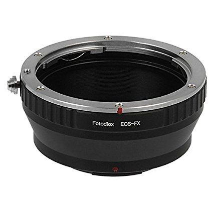 Fotodiox Lens Mount Adapter - Canon EOS (EF / EF-S) D/SLR Lens to Fujifilm X-Series Mirrorless Camera Body