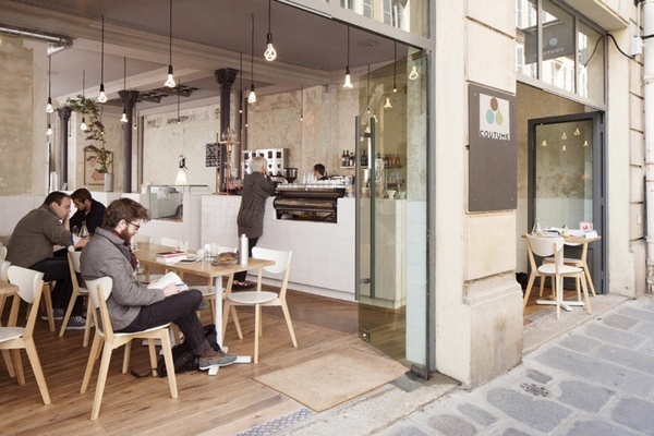 #cafe: Shops Interiors, Open Spaces, Cafe Style,  Eateri, Design Interiors, Cafe Paris, Restaurant Food, Interiors Design, Cafe K-Cup