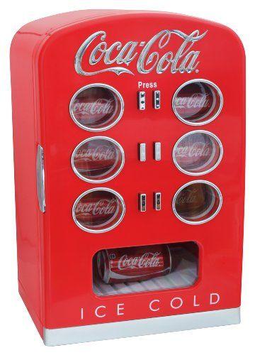 Coca Cola KBC22 Retro Vending Fridge Coca-Cola http://www.amazon.com/dp/B00AHY2HWI/ref=cm_sw_r_pi_dp_kkS8ub11AK9NM