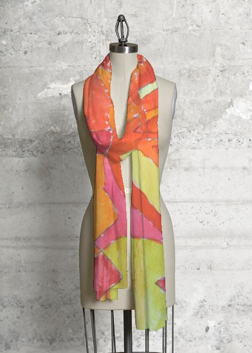 Modal Scarf - Hot Pink Flower by VIDA VIDA L9s3dbJ60