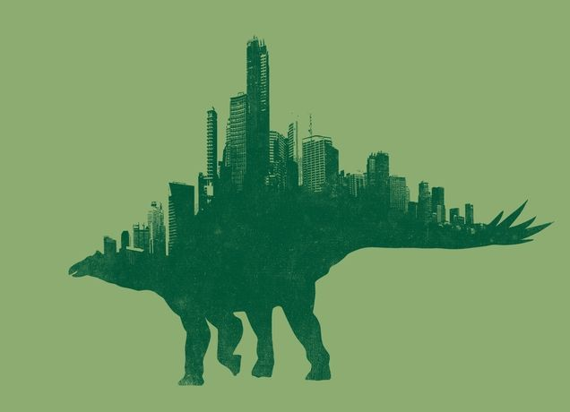 """Citysaurs"" - Threadless.com - Best t-shirts in the world"