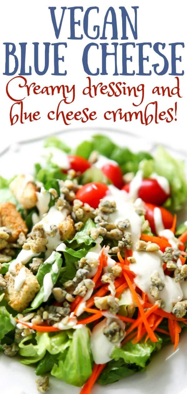 This Vegan Blue Cheese Recipe Will Blow You Away It Will Satisfy Your Tangy Blue Chee Vegan Cheese Recipes Best Vegetarian Recipes Vegan Blue Cheese Dressing