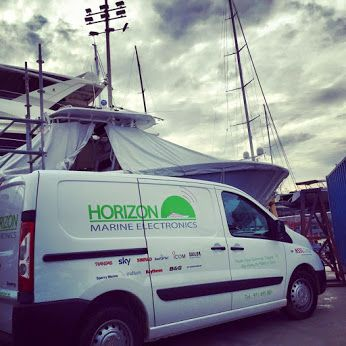 Out in the ‪#‎Shipyard‬ first thing this morning. It's the busiest time of year here in STP Palma and our electronics engineers are flat out with VSAT, Navigation systems, and Comms Systems servicing and installations. Horizon Marine Electronics have just been awarded the exclusive partnership rights to NSSLGlobal Systems in the Balearics. Get in touch to hear all the benefits by contacting chris@horizonme.eu ‪#‎MarineElectronics‬ www.horizonme.eu