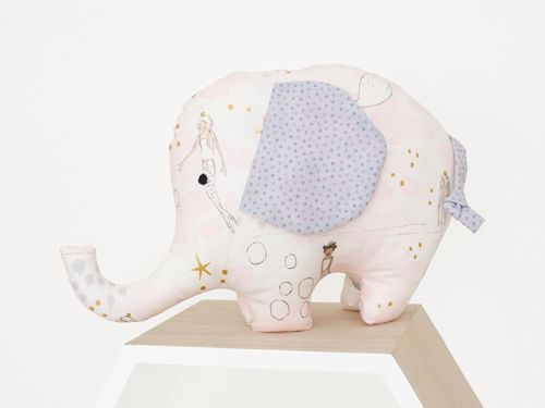 Elephant Soft toy - handmade with love by Cute Cuddles NZ.  The perfect baby shower and early birthday gifts that everyone will love. Creating memories that last a lifetime!