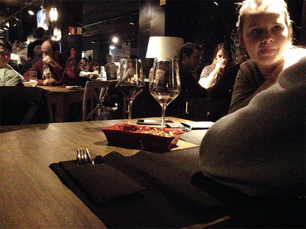 Dining with the Narrative Clip