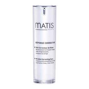 Matis Reponse Corrective Crema Correctora de Arrugas 30 ml. Corrector de arrugas que combina una triple acción sin precedentes para rápidos y visibles resultados en las líneas de expresión. Un efecto suavizante, antiarrugas, de llenado y una acción de reestructurante.