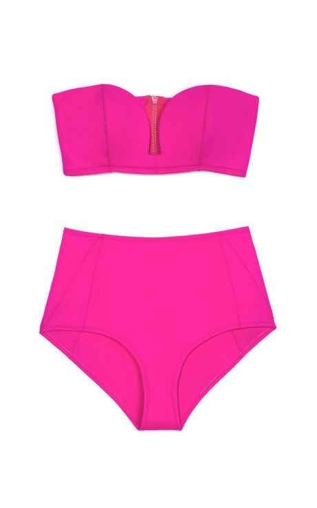 Neo Minimal Highwaist Bikini Brief by Shakuhachi - Moda Operandi