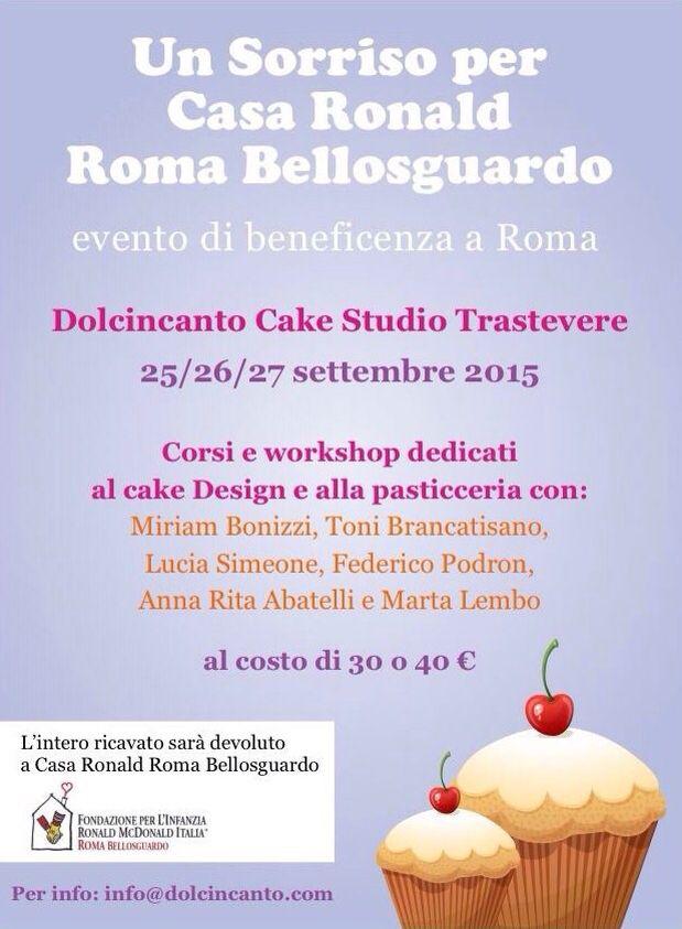 Evento di beneficenza a Roma info@dolcincanto.com