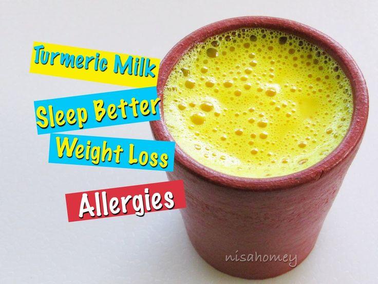 How To Make Turmeric Milk - Golden Milk Recipe - Haldi Doodh For Quick W...