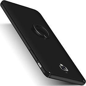Для со стендом Кольца-держатели Матовое Кейс для Задняя крышка Кейс для Один цвет Твердый PC для OnePlus One Plus 3 One Plus 3T