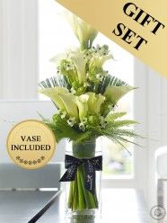 Luxury Calla Lily Vase