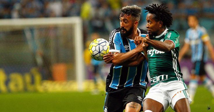 Grêmio e Palmeiras param no travessão, e Fla se aproxima do time alviverde