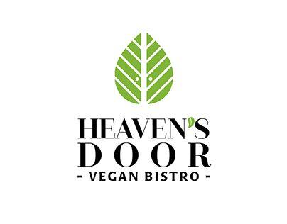 """Check out new work on my @Behance portfolio: """"Heaven's Door vegan bistro branding"""" http://be.net/gallery/58117367/Heavens-Door-vegan-bistro-branding"""