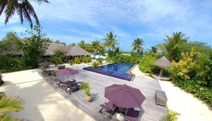 Anantara Kihavah Maldives Villas - aerial view